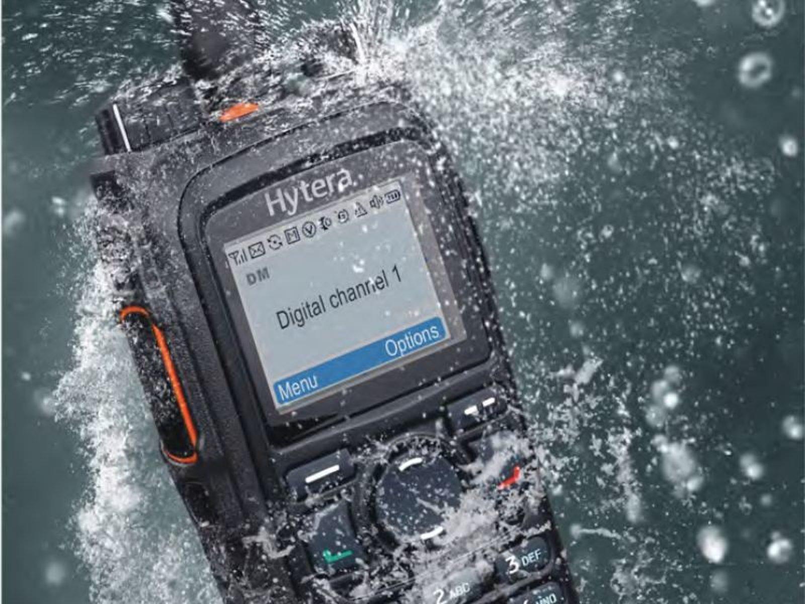 Hytera PD785 DMR extrem robustes Handsprechfunkgerät