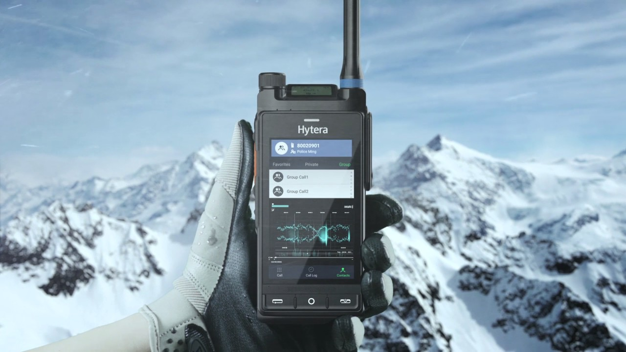 Hytera LTE Multimode-Funkgeräte DMR und Tetra
