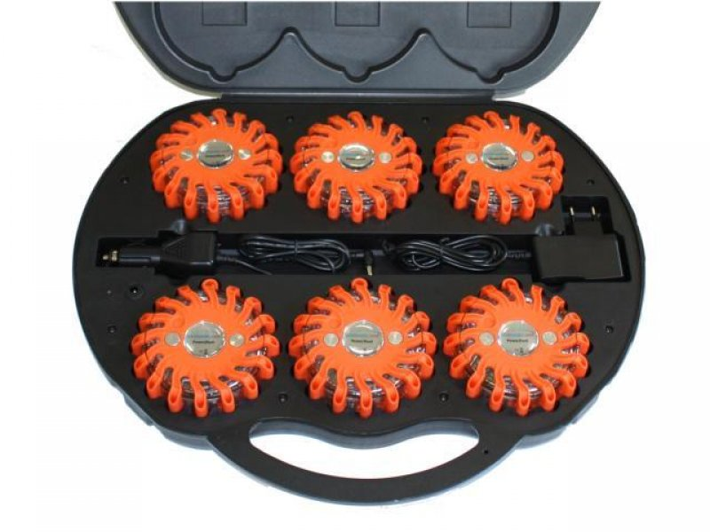 powerflash led kofferset blitzer orange 139 95. Black Bedroom Furniture Sets. Home Design Ideas