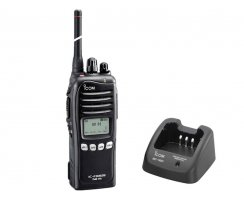 Icom IC-F3062S FuG11b - Set mit 230V Lader