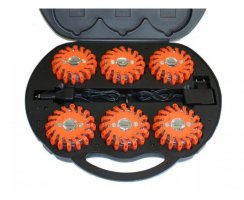 Powerflash LED Kofferset Blitzer Orange