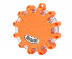 Powerflash PLUS LED Warnleuchte Batterie Orange