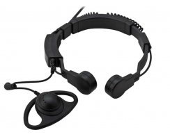 Profi Kehlkopf Security Headset robust KEP35-GP900
