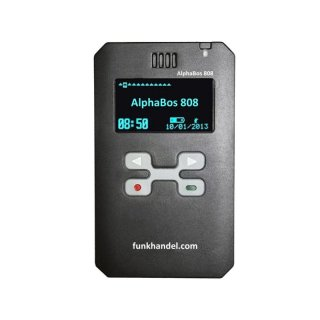 Digitalpager AlphaBos 808 IP67 black