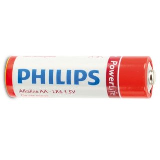 Philips Batterie PowerLife Alkaline Mignon (AA)