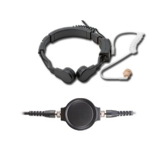 Profi Kehlkopf Security Headset robust KEP33-GP344