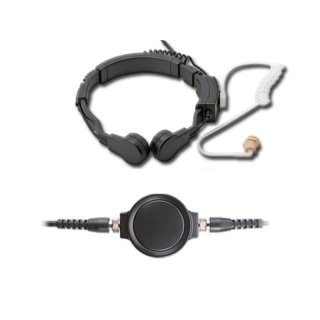 Profi Kehlkopf Security Headset robust KEP33-PD7