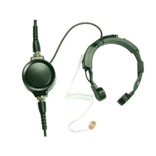 Profi Kehlkopf Security Headset robust KEP33-QD