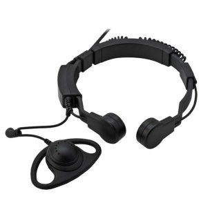 Profi Kehlkopf Security Headset robust KEP35-K