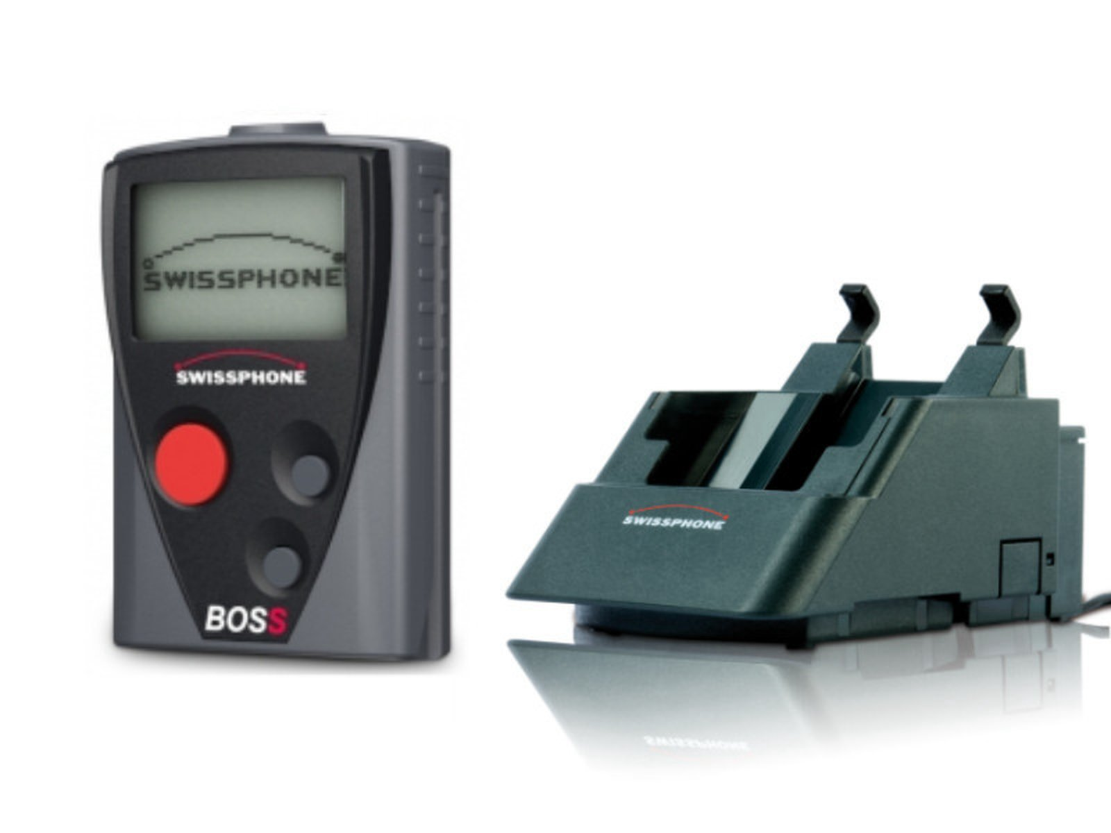 Swissphone BOSS 935 Set mit Ladestation
