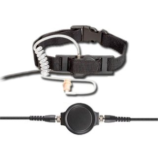 Profi Kehlkopf Security Headset robust KEP34-CP