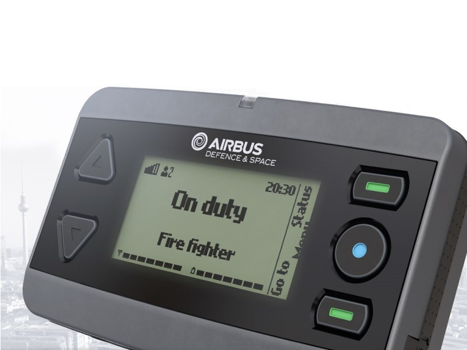 Airbus Defence & Space P8GR Tetra Pager