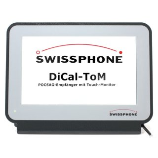 Swissphone DiCal-ToM V POCSAG Empfänger mit Touch-Monitor