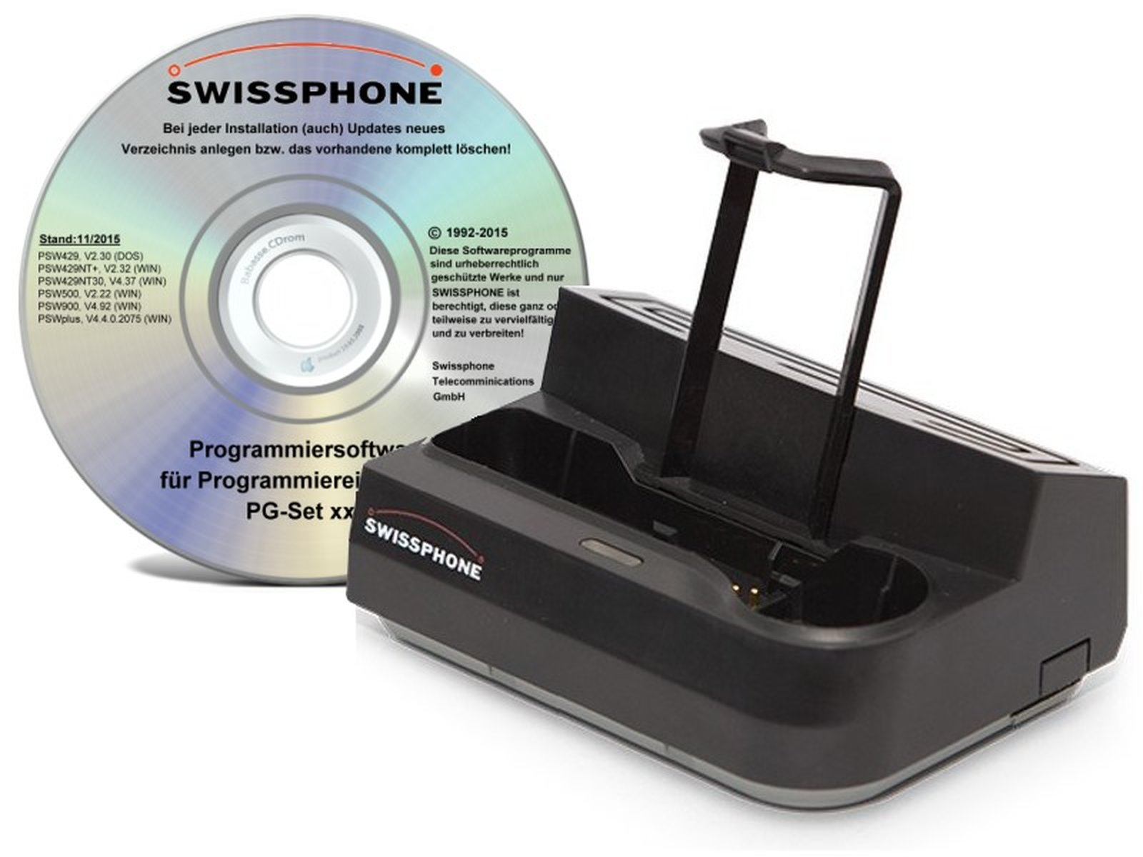 Swissphone PG-Set s.QUAD mit Software