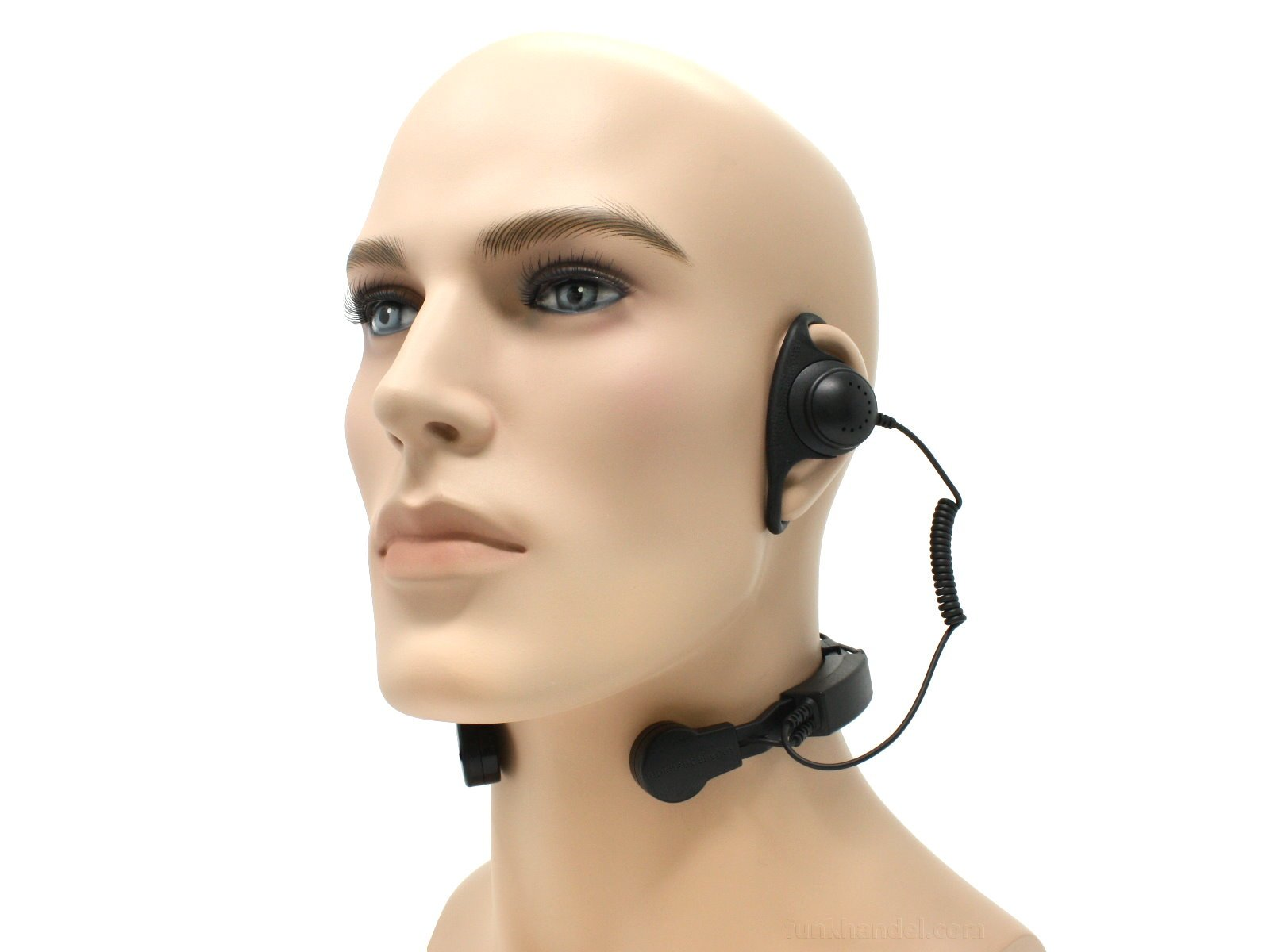 Profi Kehlkopf Security Headset robust KEP35-STP