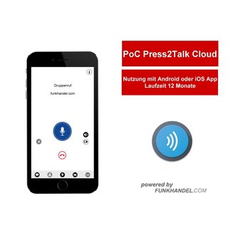 Kirisun PoC Press2Talk Mobile APP Service
