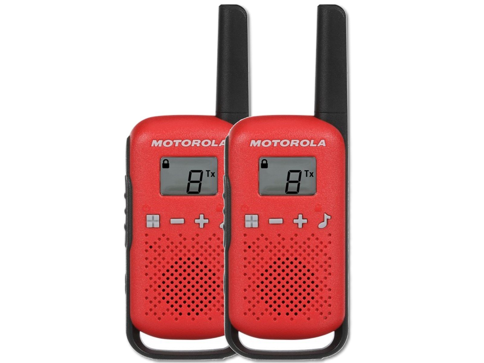 Motorola Talkabout T42 PMR446 Twin Pack Rot