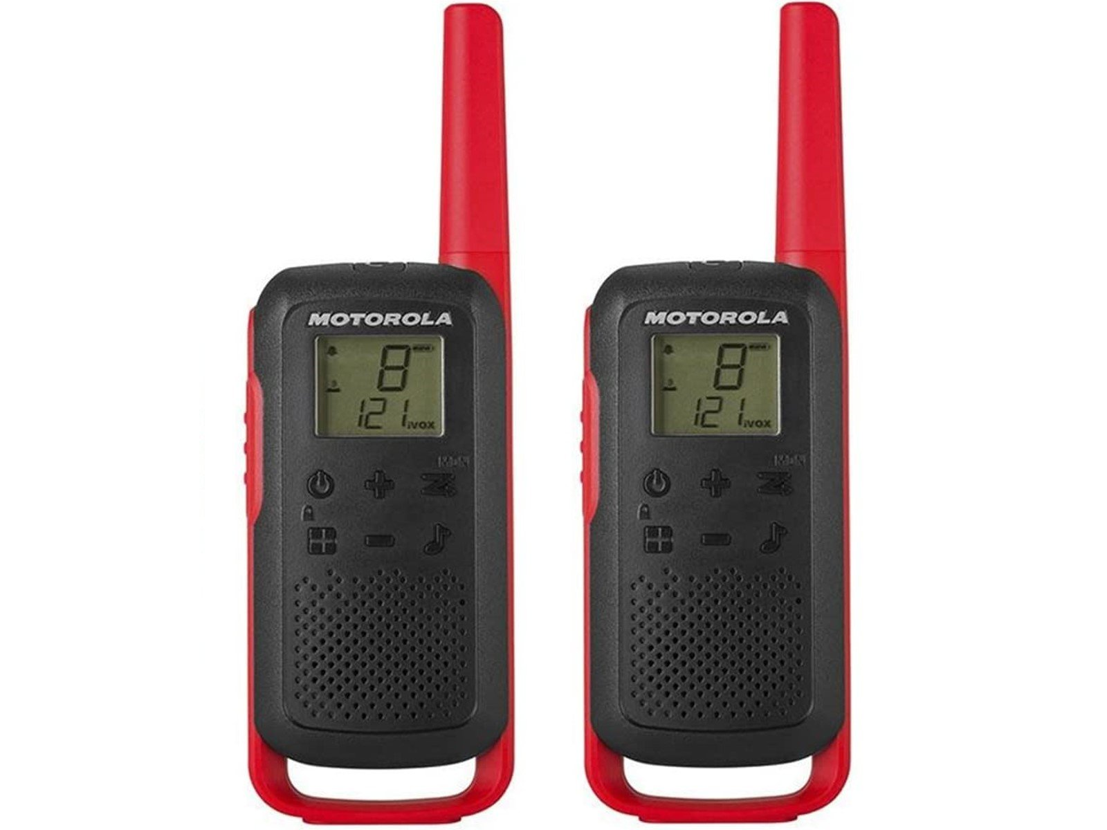 Motorola Talkabout T62 PMR446 Twin Pack Rot