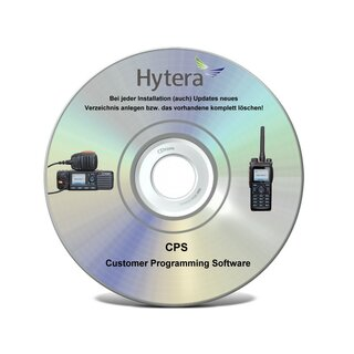 Hytera CPS Programmiersoftware PD5 Serie